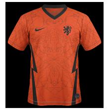 Hollande Euro 2020 Pays Bas maillot domicile
