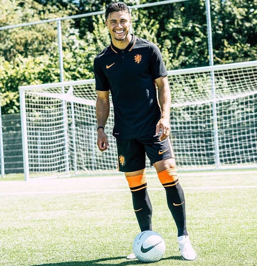 Pays Bas Euro 2020 maillot de foot exterieur officiel