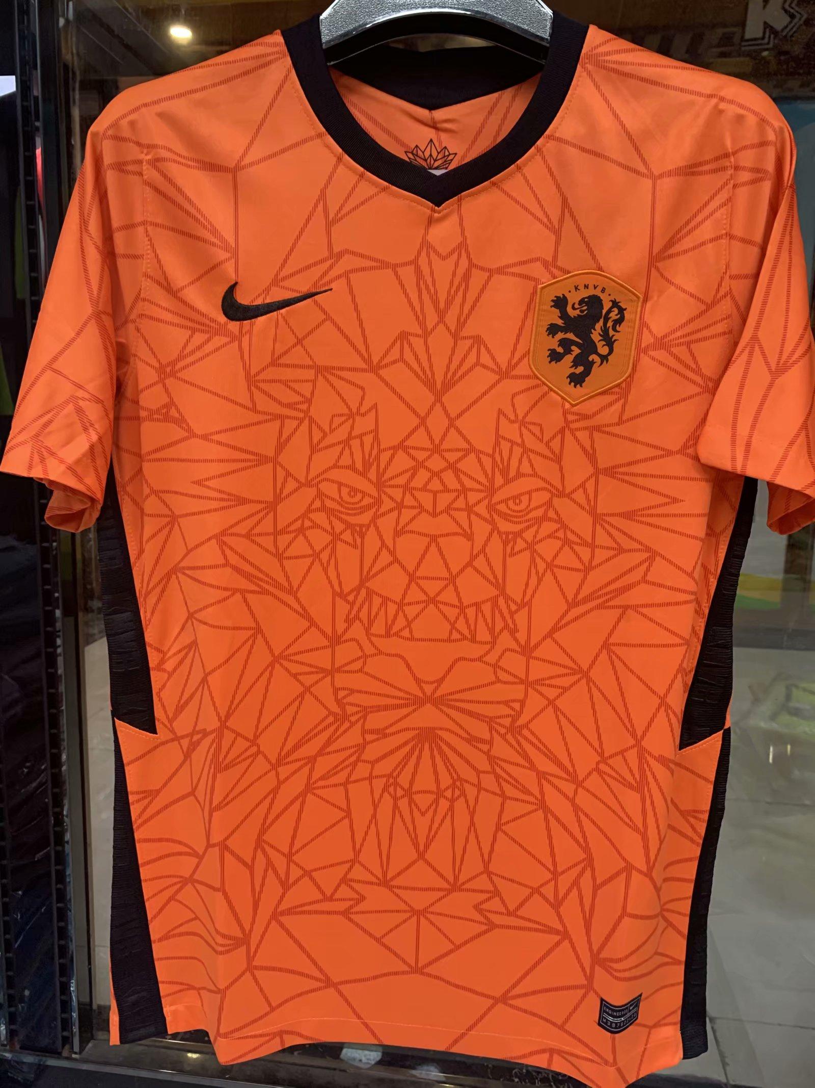 Pays-Bas Euro 2020 maillot domicile football Nike