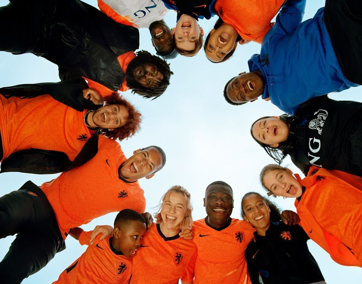 Pays Bas Euro 2020 maillot domicile officiel Nike