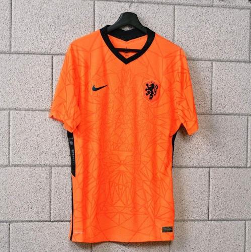 Pays Bas Euro 2020 maillot domicile officiel football
