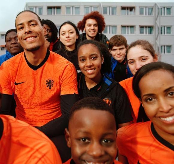 Pays Bas Euro 2020 maillot domicile officiel