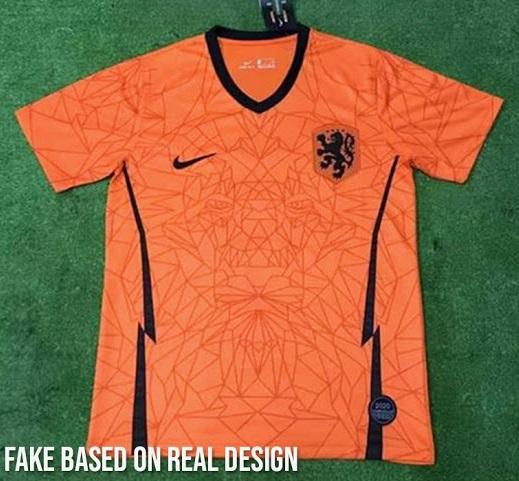 Pays Bas Euro 2020 nouveau maillot domicile foot