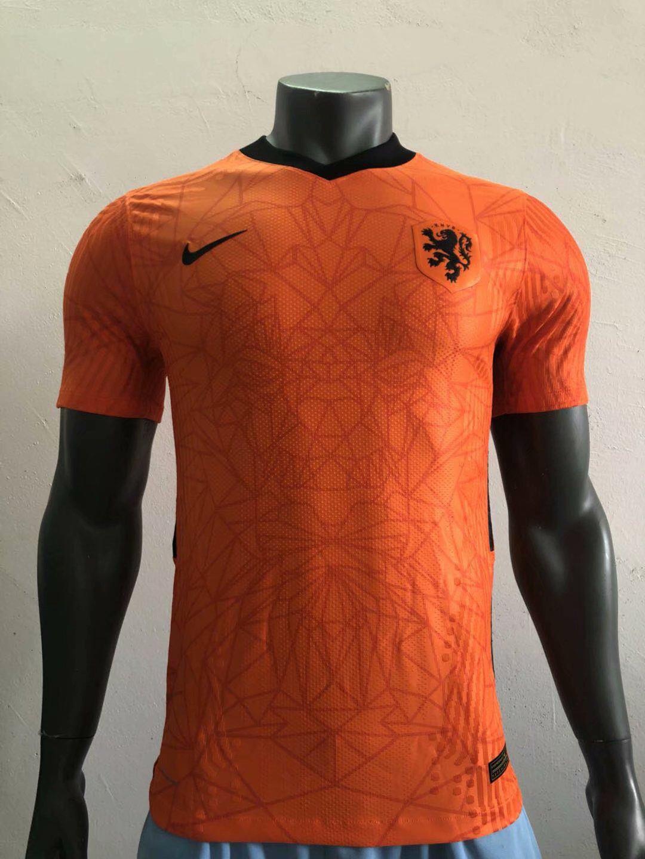 Pays-Bas Euro 2020 nouveau maillot domicile foot