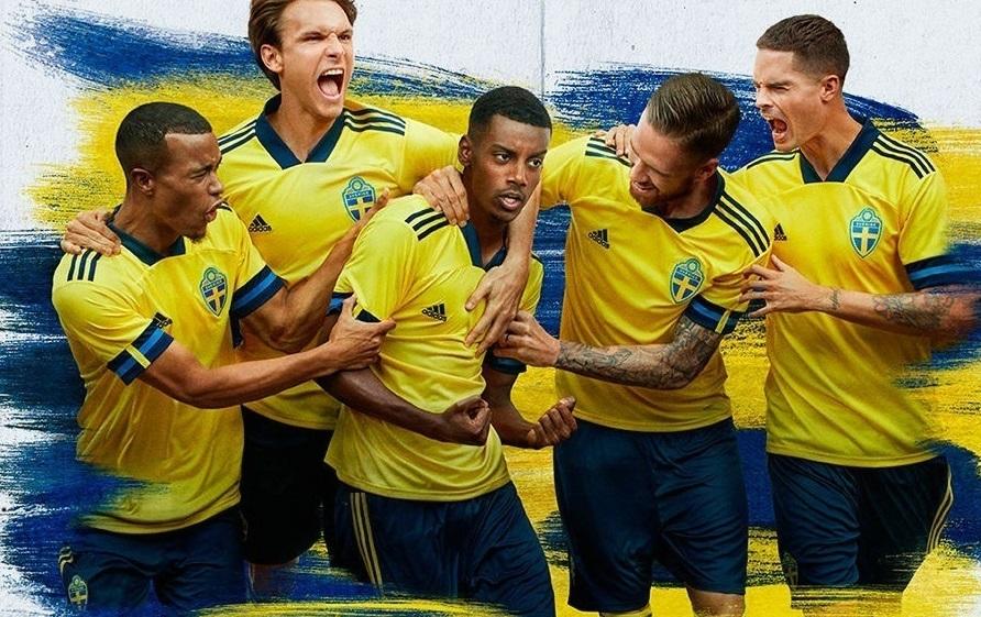 Suede Euro 2020 maillot de foot domicile