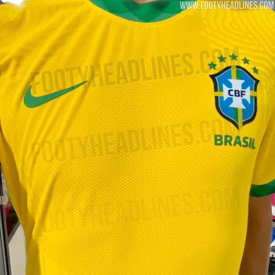 Bresil Copa America 2020 maillot domicile photo
