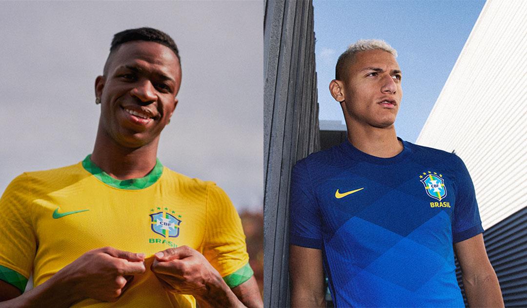 Nouveaux maillots de foot Bresil 2020