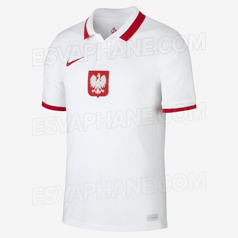 Pologne Euro 2020 maillot de foot domicile Nike