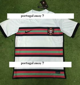 Portugal Euro 2020 maillot exterieur possible