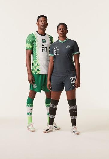 Nigeria 2020 maillots foot Nike