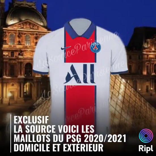 PSG 2021 maillot exterieur football Paris Saint Germain