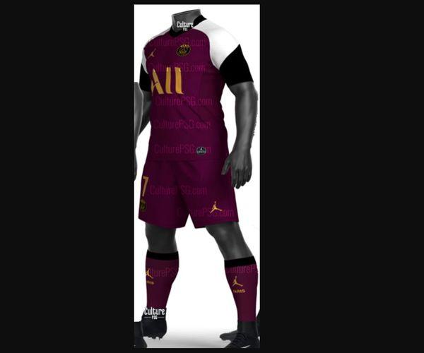 PSG 2021 troisieme maillot trosieme Paris Jordan