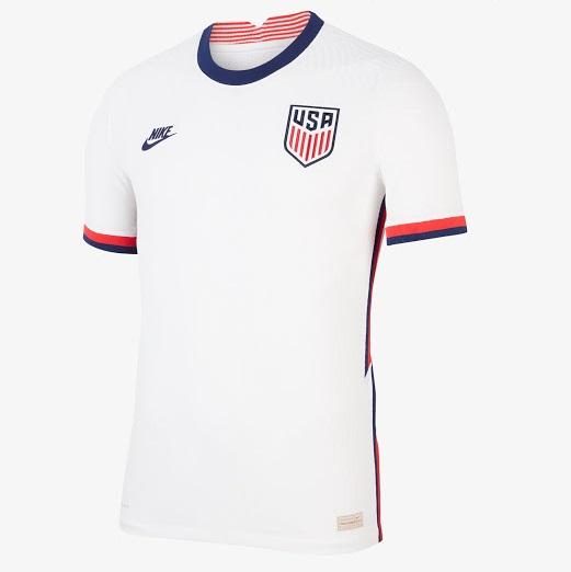 USA 2020 maillot domicile foot Etats Unis Nike