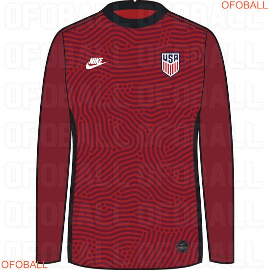 USA 2020 maillot gardien foot Etats Unis
