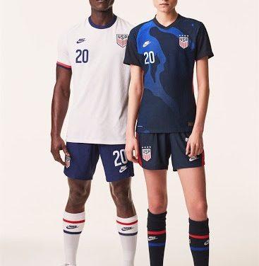 USA 2020 les nouveaux maillots Etats-Unis 2020 par Nike