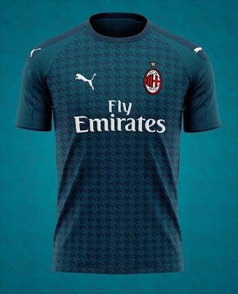 AC Milan 2021 maillot third inspiration
