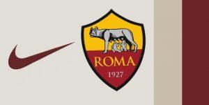 AS Roma 2021 couleurs maillot de foot exterieur