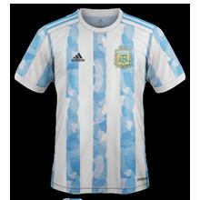 Argentine Copa America 2021 maillot de foot domicile 2020