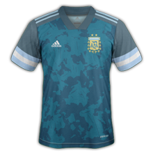 Argentine Copa America 2021 maillot exterieur foot