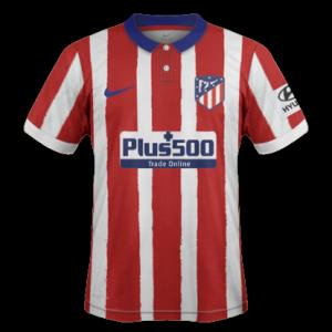 Atletico Madrid 2021 nouveau maillot domicile