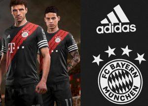 Bayern Munich maillot third 2021 inspiration