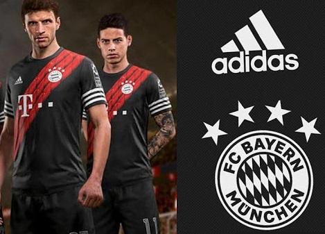 Bayern Munich maillot third 2021 inspiration