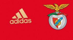 Benfica 2021 maillot domicile couleurs