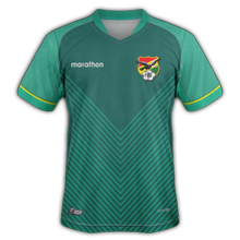 Bolivie Copa America 2021 maillot domicile foot