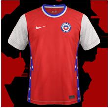 Chili Copa America 2021 maillot domicile