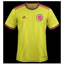 Colombie 2021 maillot de foot domicile 2020