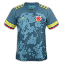 Colombie Copa America 2021 maillot exterieur foot