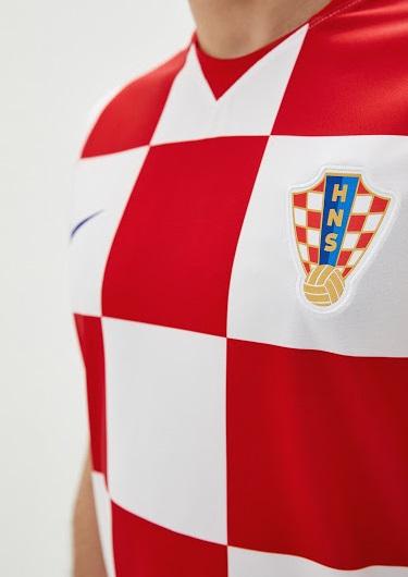 Croatie Euro 2020 2021 maillot de foot domicile Nike