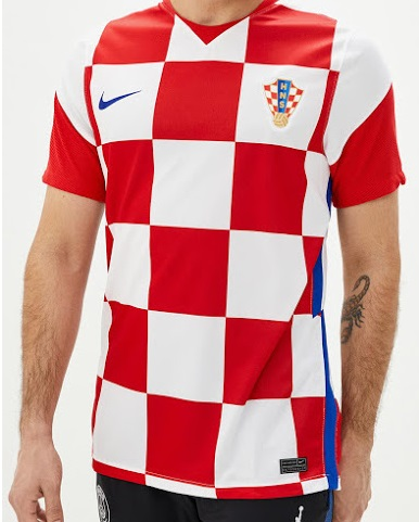 Croatie Euro 2020 2021 maillot de foot domicile