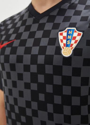 Croatie Euro 2020 2021 maillot exterieur Nike