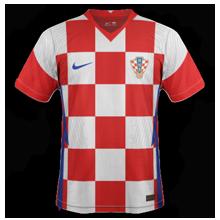 Croatie Euro 2020 maillot domicile Nike