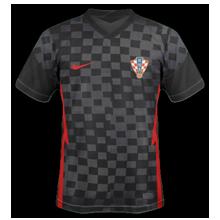 Croatie Euro 2020 maillot exterieur football