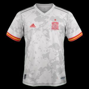 Espagne Euro 2020 nouveau maillot exterieur