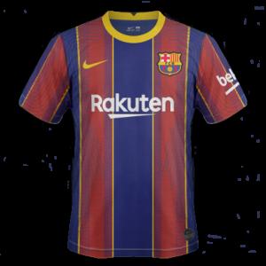 FC Barcelone 2021 nouveau maillot de foot domicile 2020 2021