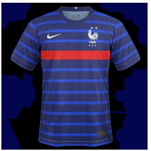 France Euro 2020 maillot domicile foot