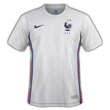 France Euro 2020 maillot exterieur Nike