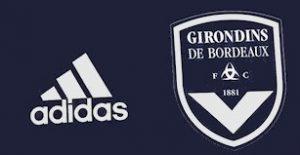 Girondins Bordeaux 2021 maillot domicile couleurs