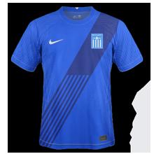 Grece Euro 2020 maillot de foot domicile