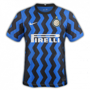 Inter Milan 2021 maillot domicile football