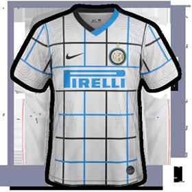 Inter Milan 2021 maillot exterieur 20 21