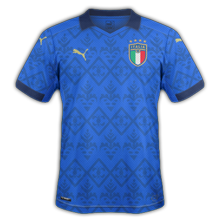Italie Euro 2020 maillot de foot domicile