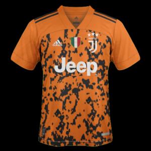 Juventus 2021 3eme maillot third supposition