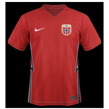 Norvege eruo 2020 maillot domicile