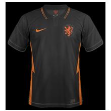 Pays-Bas Euro 2020 maillot exterieur noir