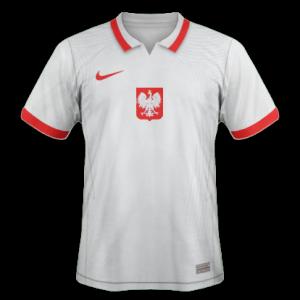 Pologne Euro 2020 maillot domicile