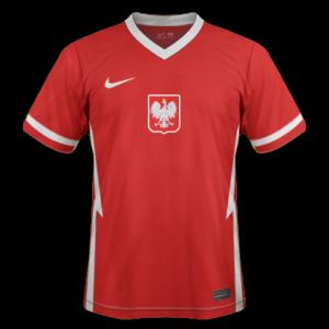 Pologne Euro 2020 maillot exterieur